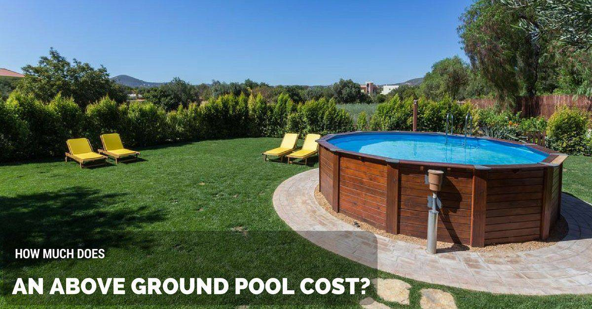 How much does an above ground pool cost the rex garden for Garden pool accessories