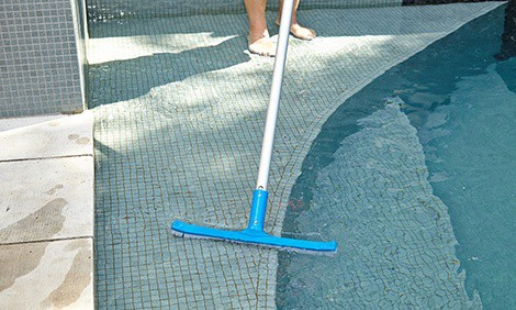 how often and why brush your pool