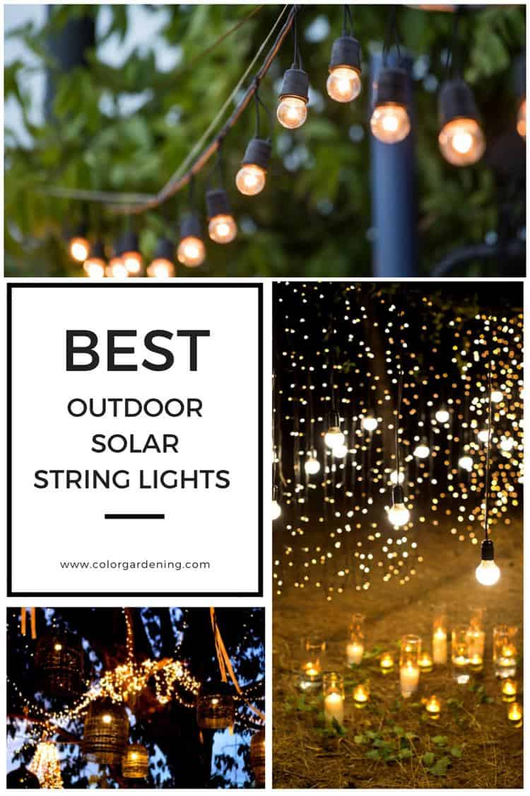 Best Outdoor Solar String Lights For Patio Outdoor Party