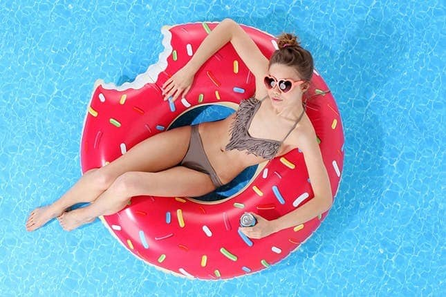 Inflatables Giant Donut Pool Float