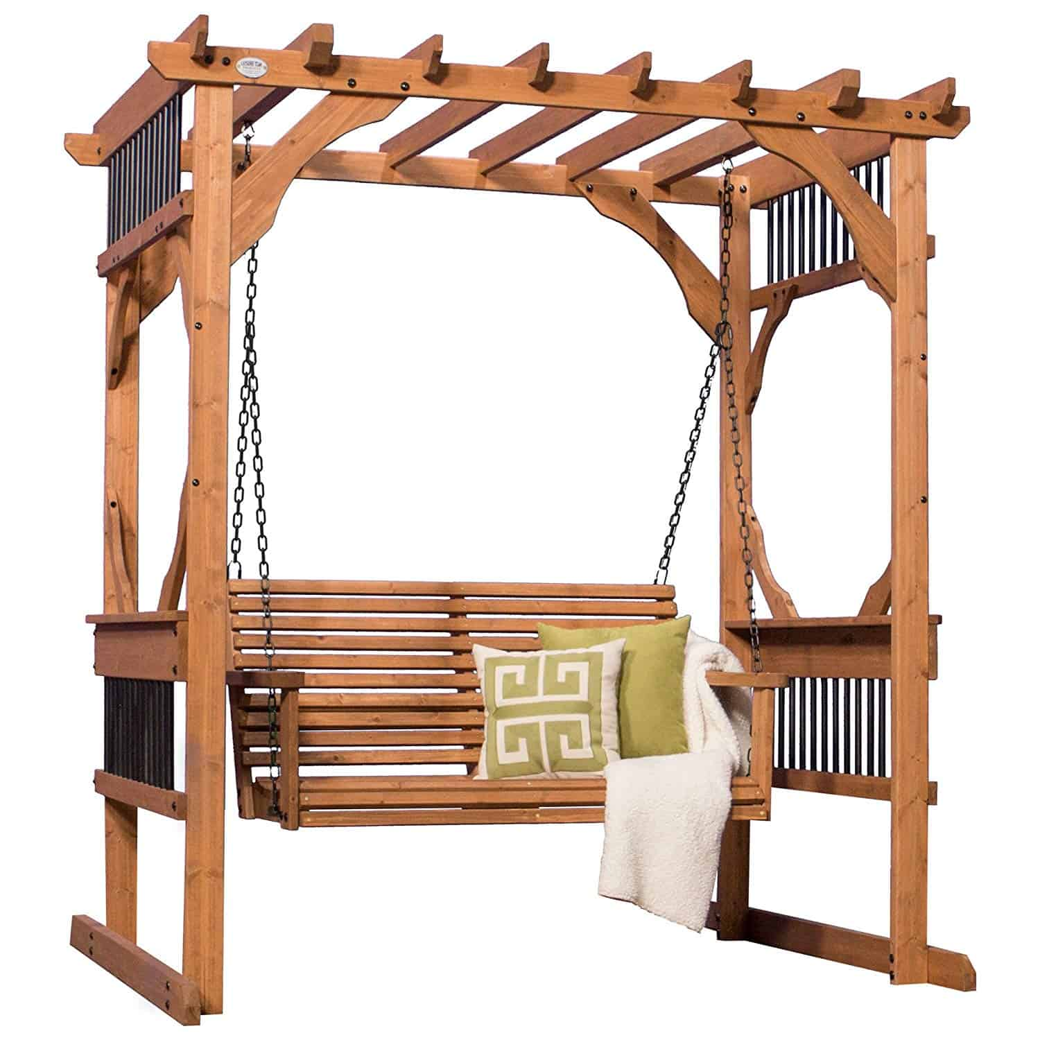 Backyard-Cedar-Pergola-Swing