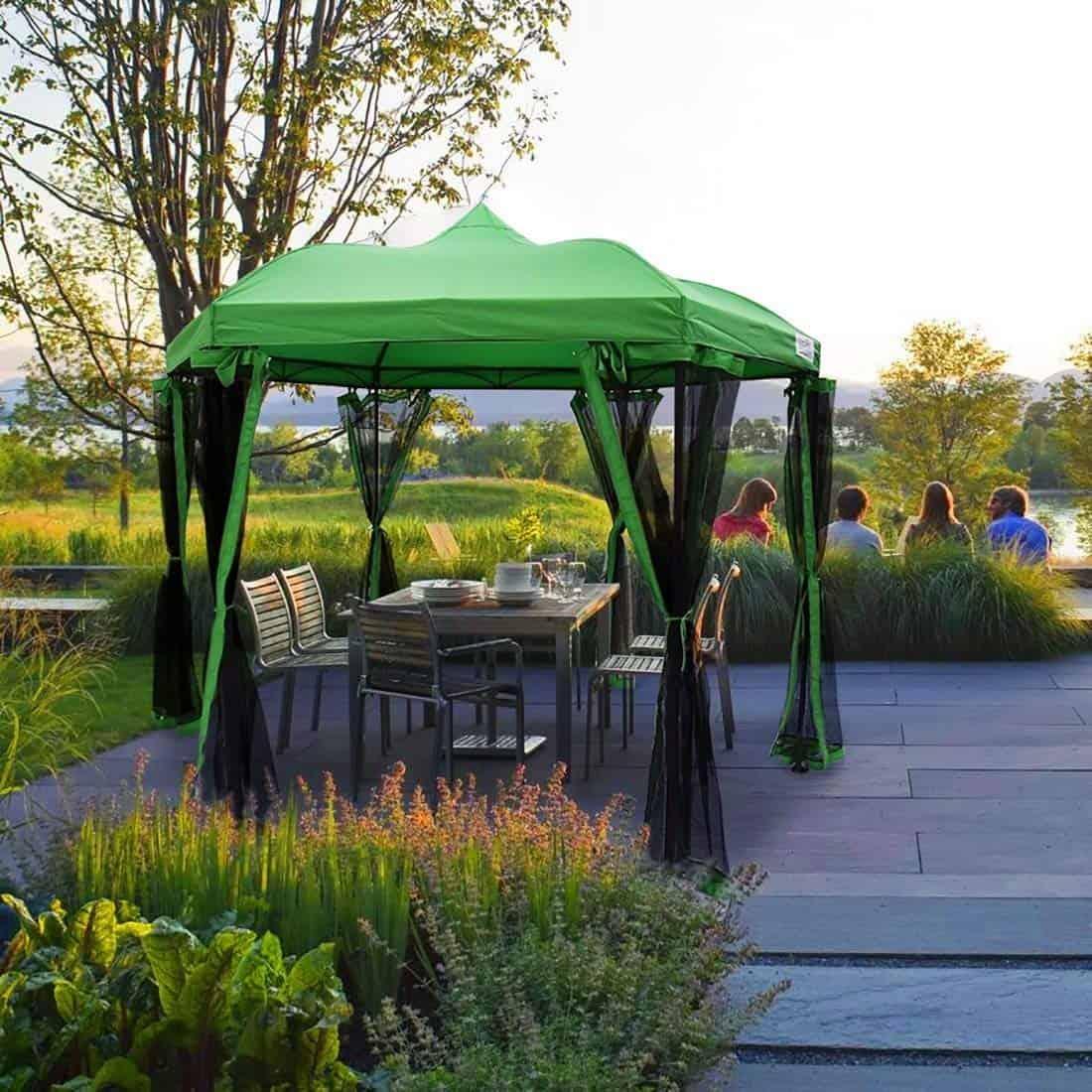 backyard-pergola-kits - Best Metal Pergola Kits For Backyard Garden - The Rex Garden
