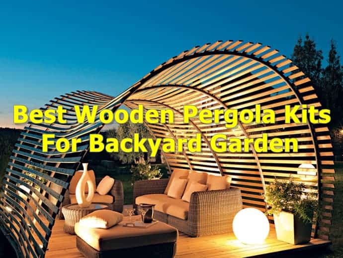 best pergola kits for garden