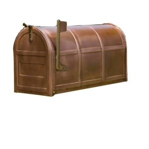 Salsbury Industries 4850A-COP Antique Rural Mailbox, Copper