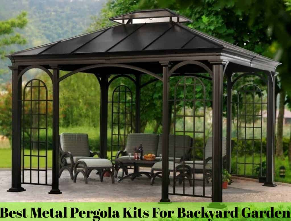 Best Metal Pergola Kits For Backyard Garden The Rex Garden