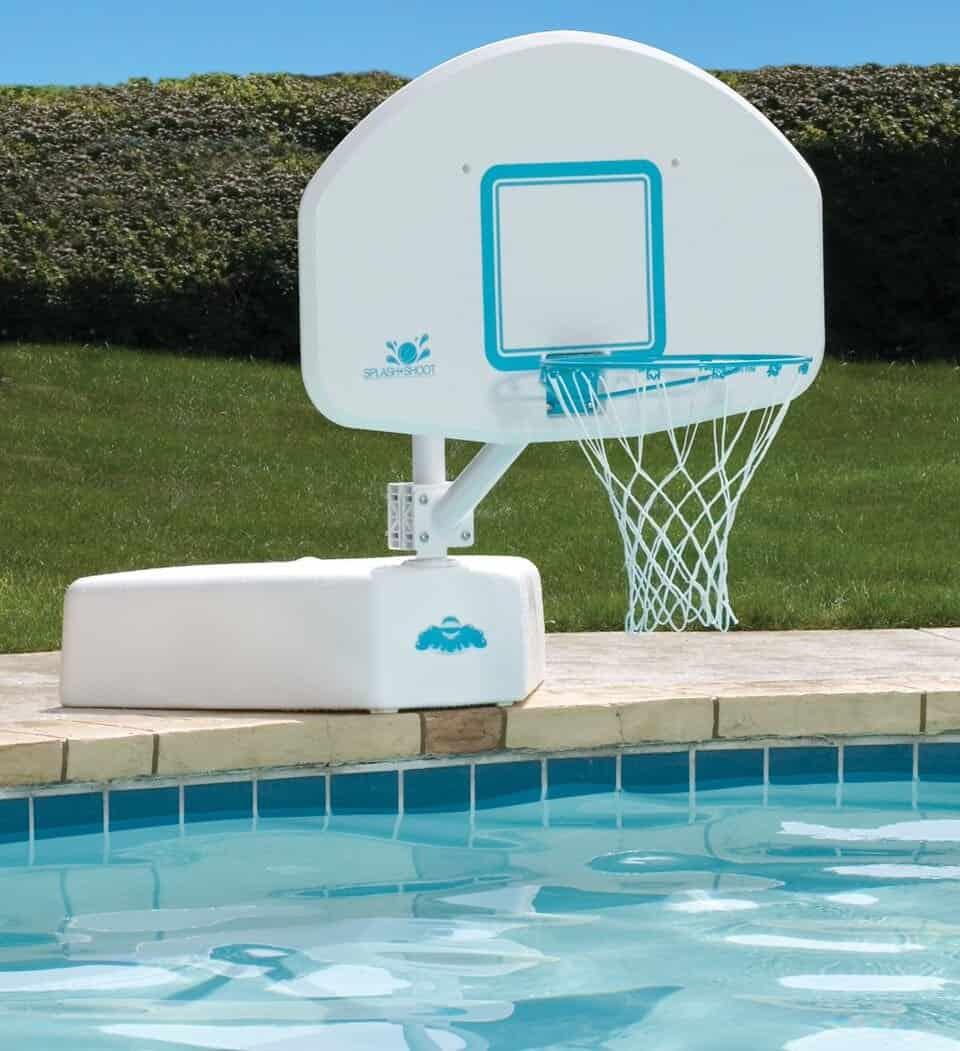 pool basketball goal