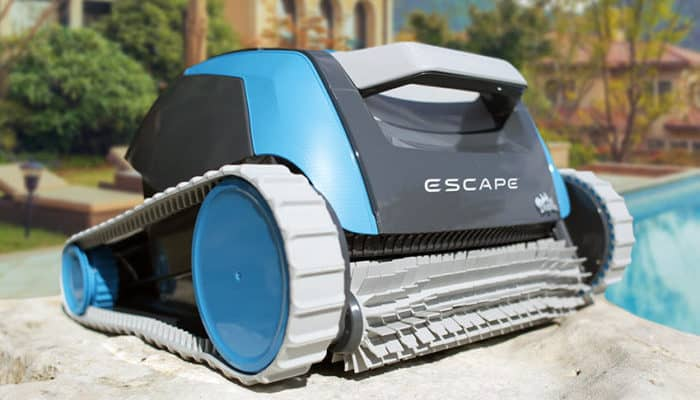 Dolphin Escape above ground pool cleaner