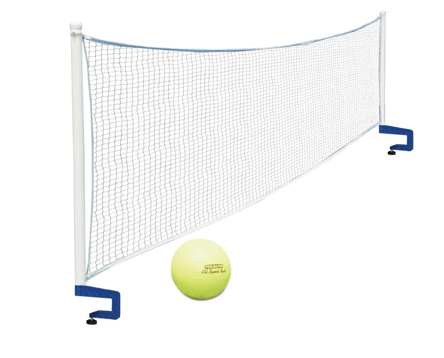 above ground pool volleyball set