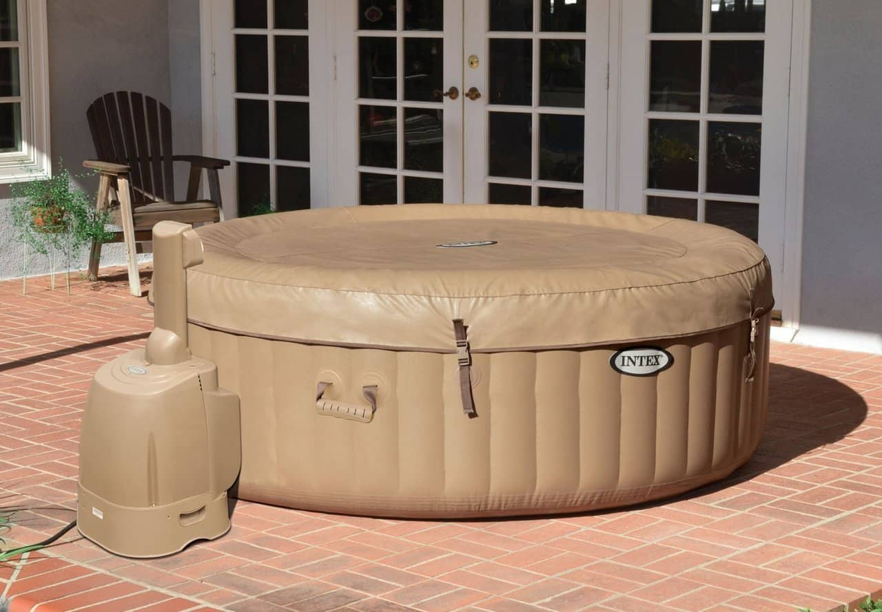 intex brown tub