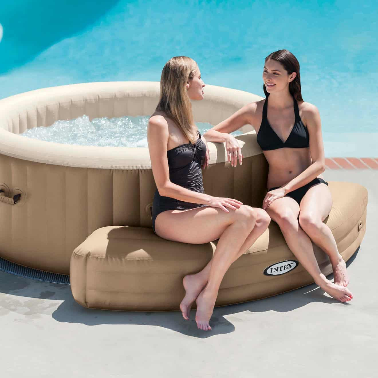 inflatable bench