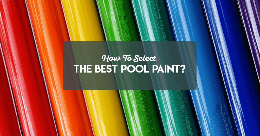 pool paints