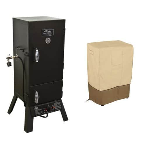 Masterbuilt 20051311 GS30D 2-Door Propane Smoker with Classic Accessories Cover