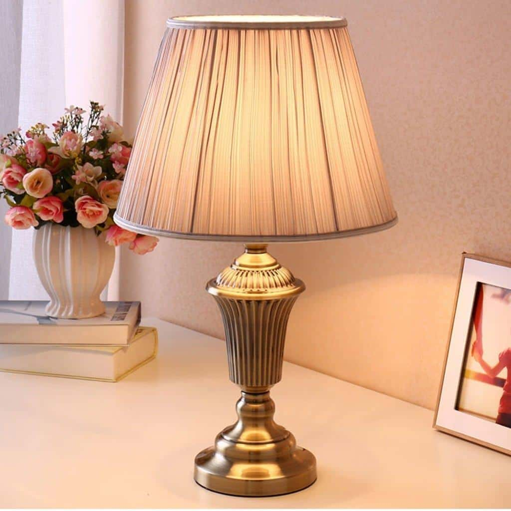Hotel Table Lamp Modern Table Lamp Copper Plated