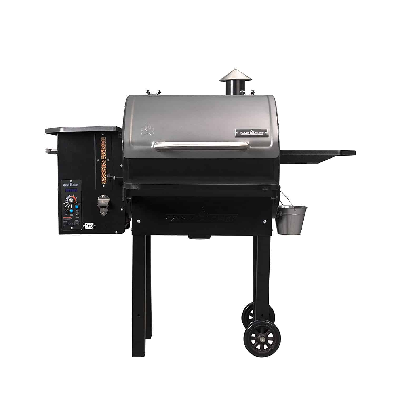 Camp Chef PG24MZG SmokePro Slide Smoker Wood Pellet Grill