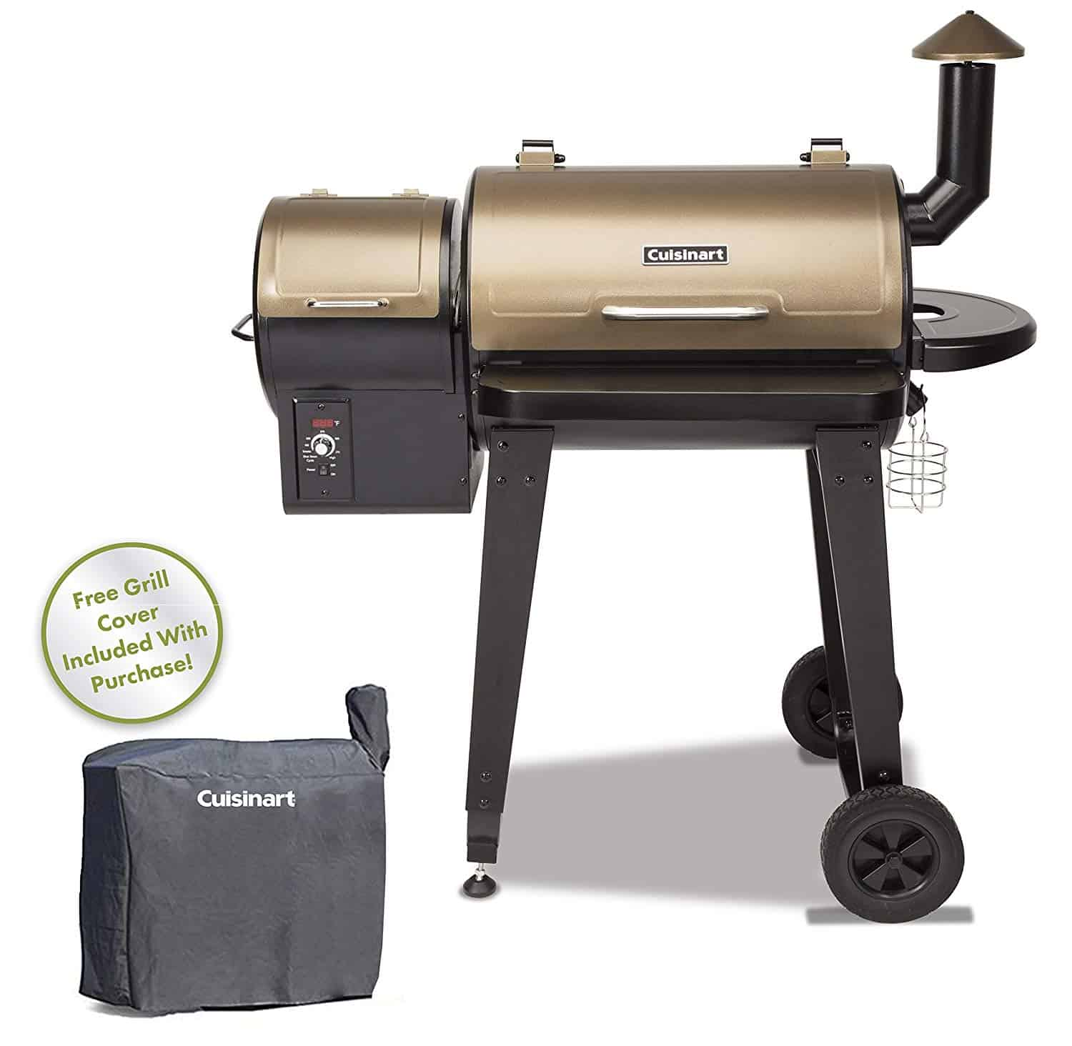 Cuisinart CPG-4000 Wood BBQ Grill & Smoker Pellet Grill and Smoker