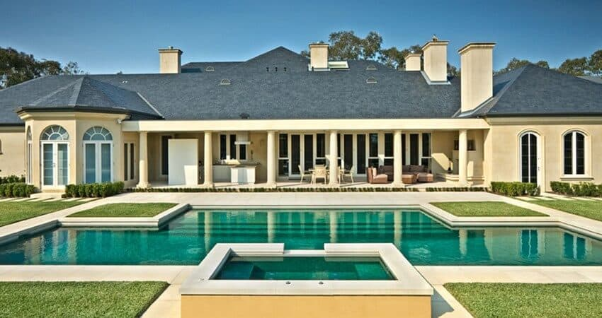 Architectural Pool