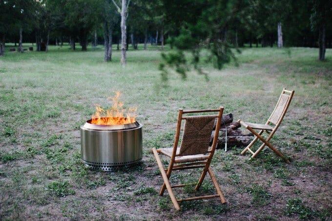 Stove bonfire pit