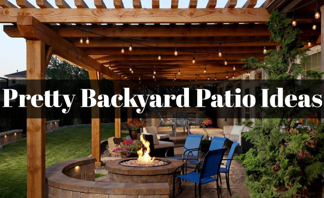 10+ Pretty Backyard Patio Ideas On A Budget   The Rex Garden on Backyard Patio Ideas id=11565