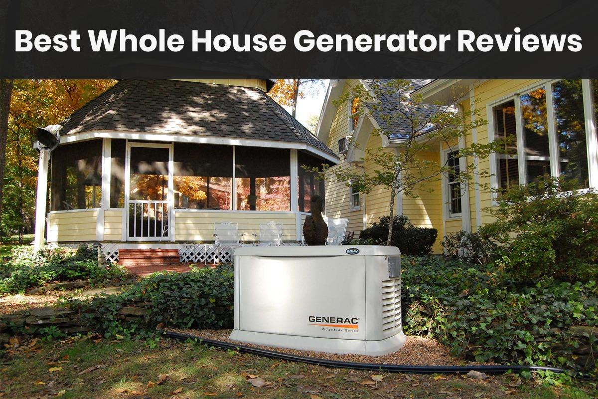 best whole house generator