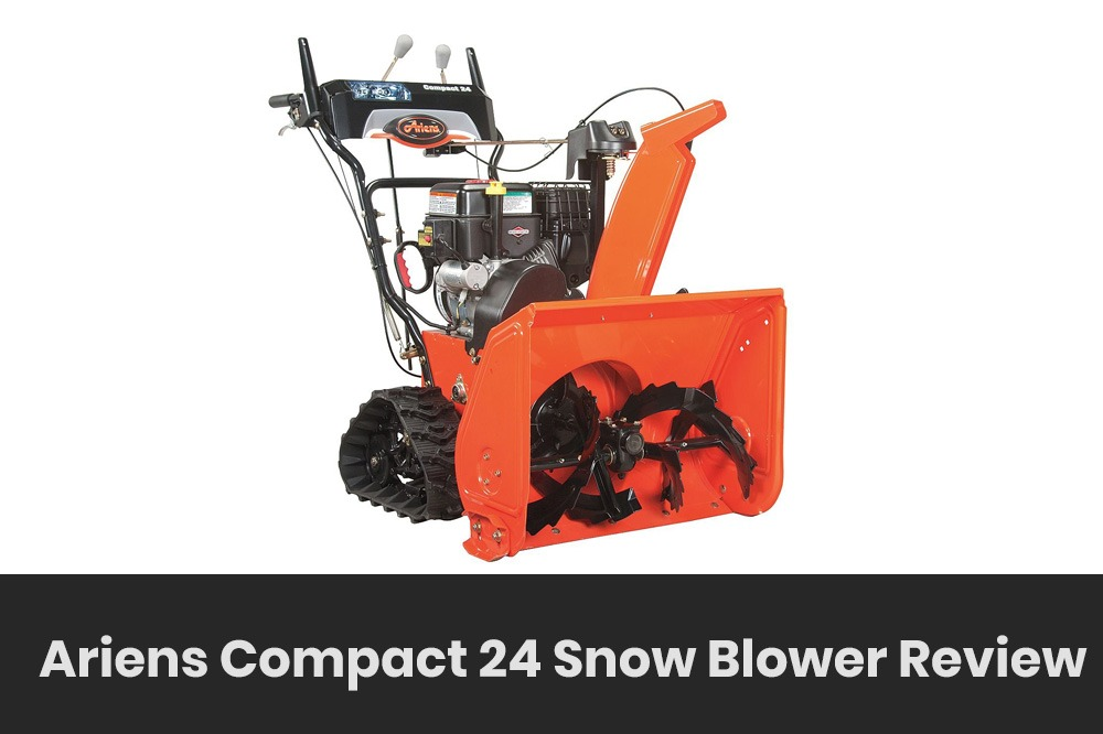 ariens compact 24 snow blower review