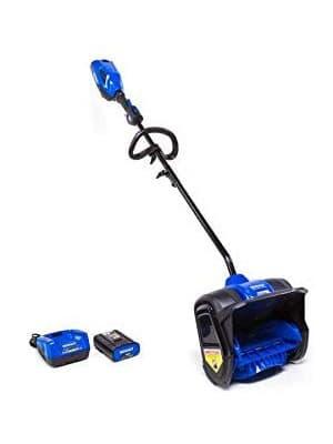 kobalt cordless electric snow blower