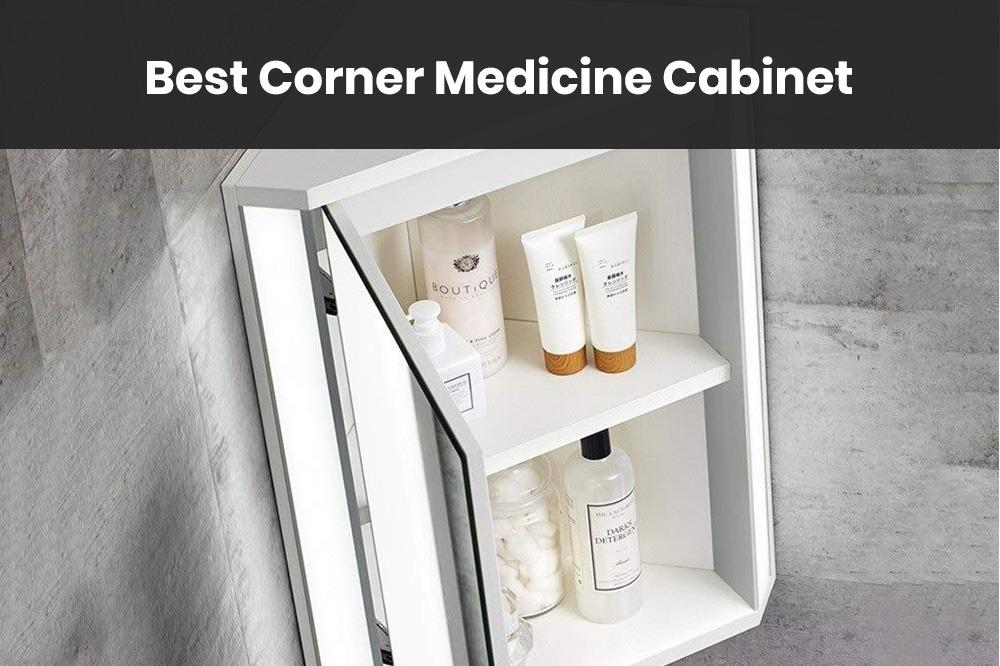 rounded corner medicine cabinet