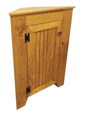 sawdust city corner cabinet