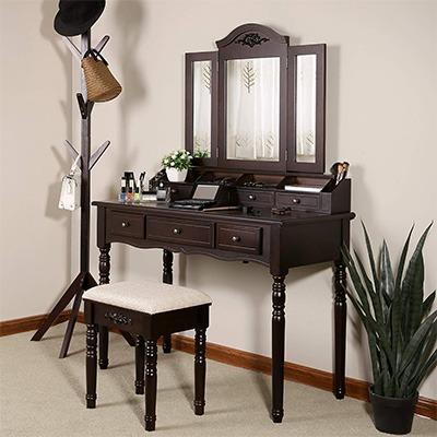 vasagle vanity set