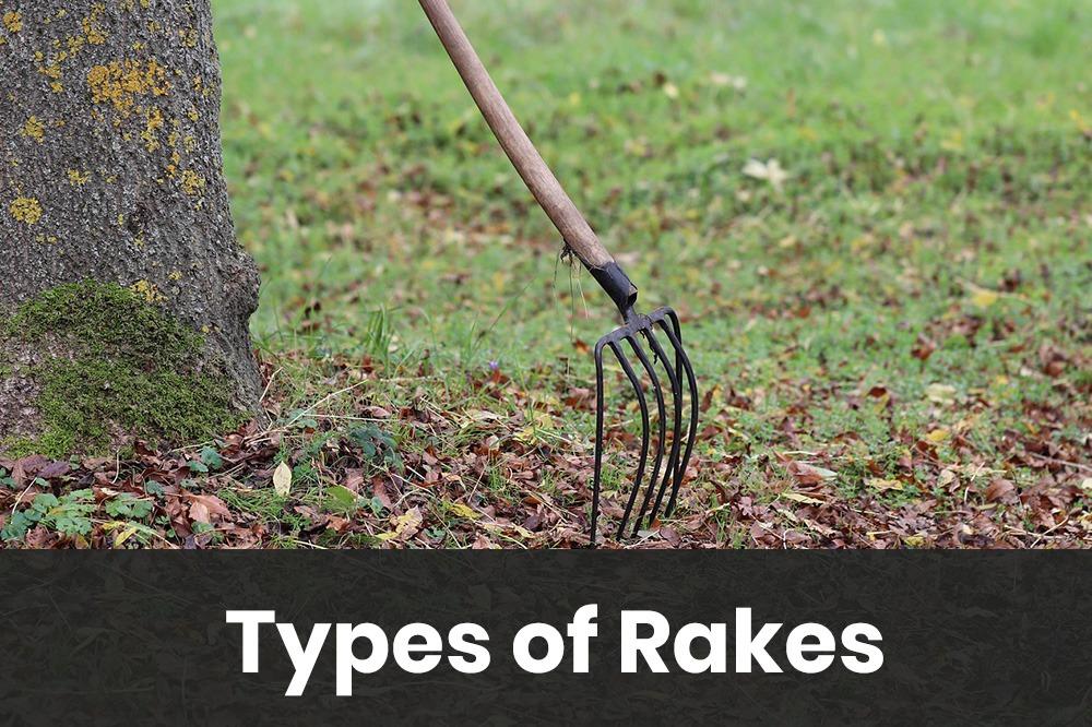types of rakes