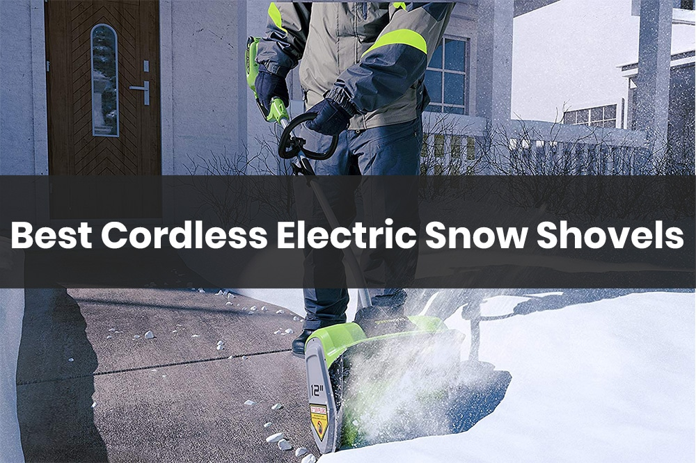 best cordless electric snow shovels