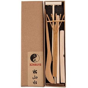 icnbuys professional mini zen garden rake tools set