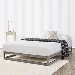 mellow 9 inch metal platform bed frame
