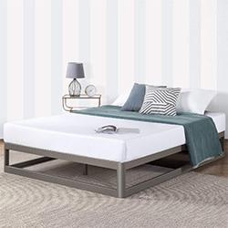 mellow metal platform bed frame