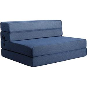 milliard tri-fold foam folding mattress