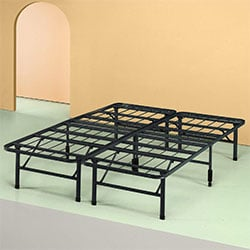 zinus shawn 14 inch smartbase mattress foundation