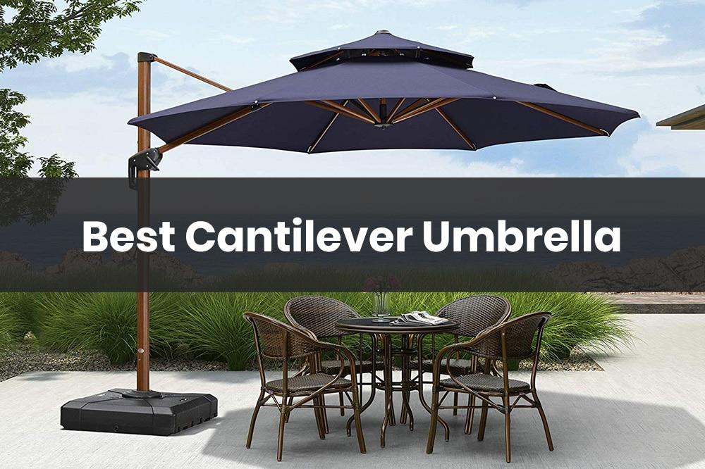 best cantilever umbrella
