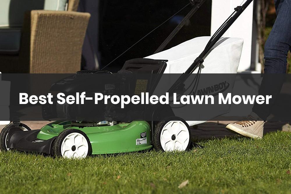 best self propelled lawn mower under 300