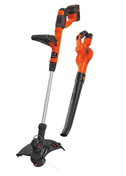 black decker cordless sweeper & string trimmer