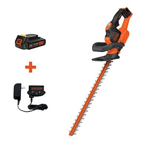 black+decker 20v max cordless hedge trimmer