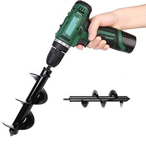 hermes land auger drill
