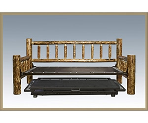 montana woodworks glacier country collection day bed