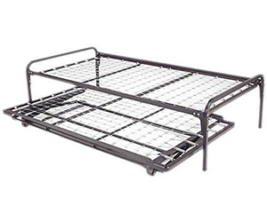twin size metal day bed