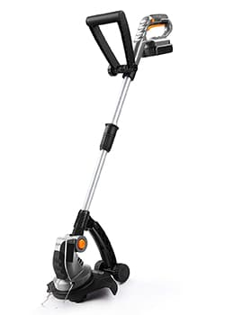 ukoke u02te cordless electric power grass trimmer