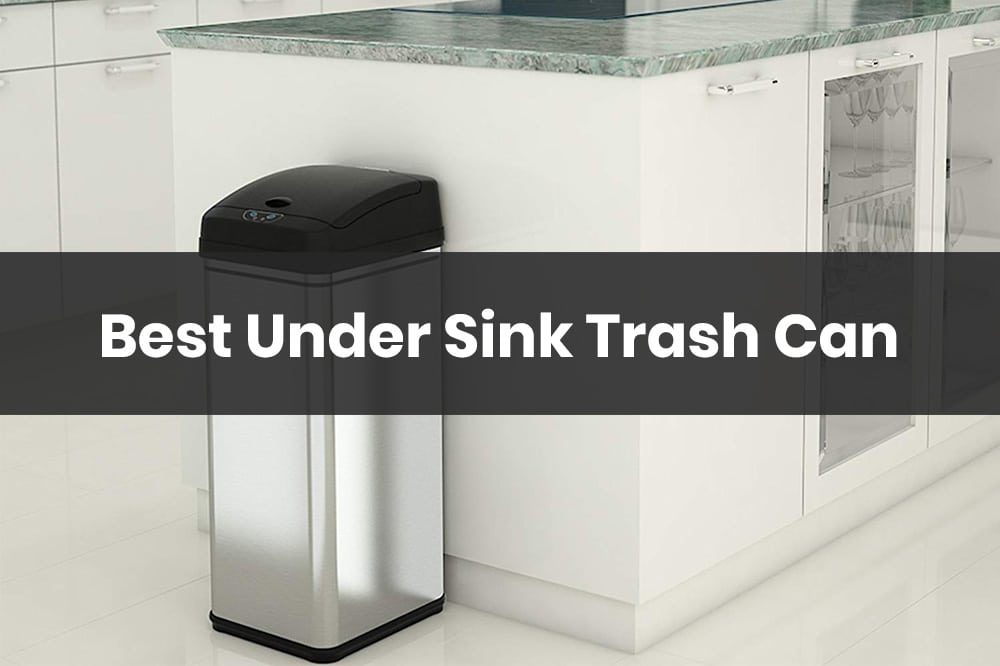 best under sink trash can
