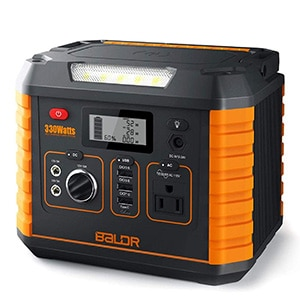 baldr portable power station 330w