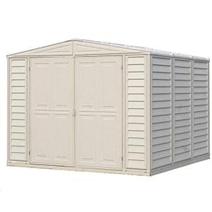 duramax duramate 8x8 vinyl storage shed