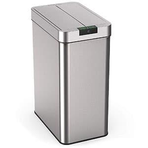homelabs 13 gallon automatic trash can