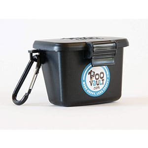 poovault dog poop bag holder