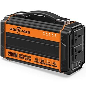 rockpals 250-watt portable generator