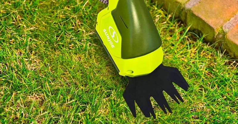 Using Cordless Grass Shears